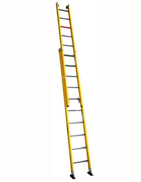 Escaleras Dos Tramos Fibra