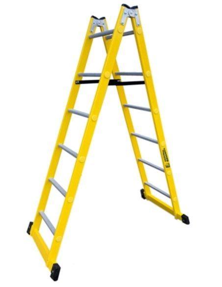 Escaleras Tijera Fibra